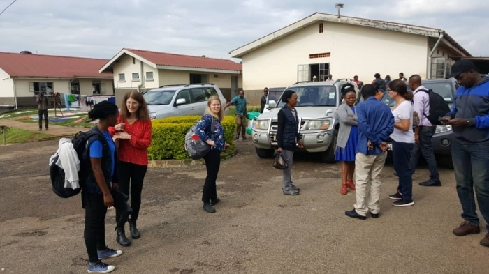 Front line health workers in Uganda vaccinated against Ebola