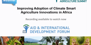 Improving Adoption of Climate-Smart Agriculture Innovations in Africa